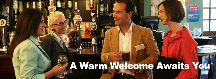 A warm welcome awaits you